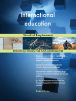 International education Standard Requirements