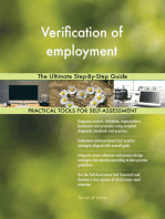 Verification of employment The Ultimate Step-By-Step Guide