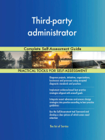Third-party administrator Complete Self-Assessment Guide