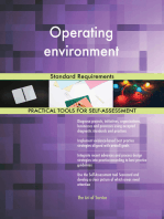 Operating environment Standard Requirements