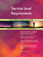 Service Level Requirements The Ultimate Step-By-Step Guide