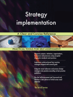 Strategy implementation A Clear and Concise Reference