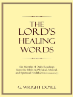 The Lord's Healing Words