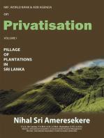Imf, World Bank & Adb Agenda on Privatisation
