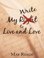 My Write to Live and Love