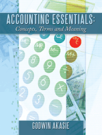 Accounting Essentials: Concepts, Terms and Meaning