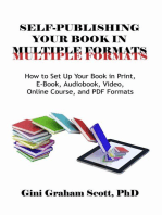 Self-Publishing Your Book in Multiple Formats