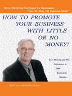 How to Promote Your Business with Little or No Money