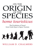 On the Origin of the Species Homo Touristicus