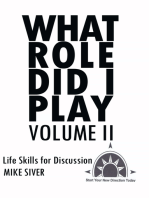 What Role Did I Play Volume Ii
