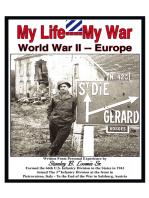 My Life- My War- World War 2