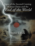 Signs of the Second Coming of Jesus Christ and the End of the World