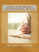 Hide the Word Devotional Book