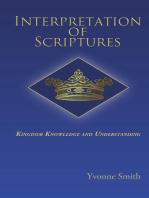 Interpretation of Scriptures