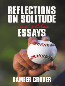 Reflections on Solitude and Other Essays