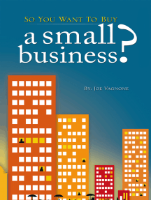 So You Want to Buy a Small Business