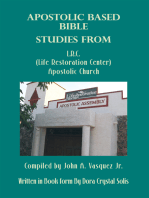 Apostolic Based Bible Studies from L.R.C. (Life Restoration Center) Apostolic Church