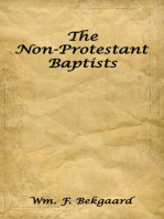 The Non-Protestant Baptists