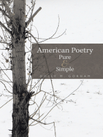 American Poetry Pure & Simple