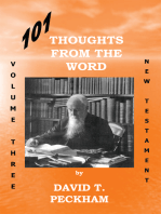 101 Thoughts from the Word Vol. Three