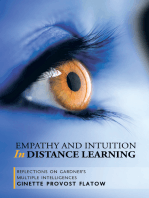 Empathy and Intuition in Distance Learning: Reflections on Gardner'S Multiple Intelligences