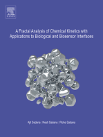 A Fractal Analysis of Chemical Kinetics with Applications to Biological and Biosensor Interfaces