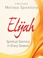 Elijah - Women's Bible Study Participant Workbook
