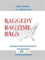 Raggedy Ragtime Rags: Ensemble percussion quintet