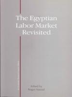 Egypt's Labor Market Revisited