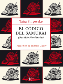 El código del samurái: Bushido Shoshinshu