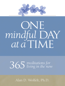 One Mindful Day at a Time: 365 meditations on living in the now