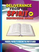 Deliverance From the Spirit of Destructive Anger