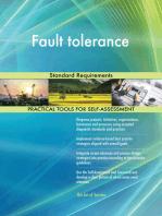 Fault tolerance Standard Requirements