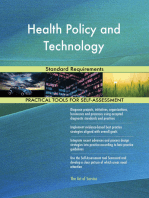 Health Policy and Technology Standard Requirements