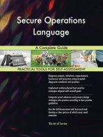 Secure Operations Language A Complete Guide