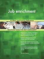 Job enrichment A Clear and Concise Reference