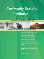 Community Security Initiative Complete Self-Assessment Guide