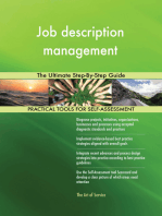 Job description management The Ultimate Step-By-Step Guide