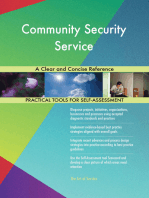 Community Security Service A Clear and Concise Reference
