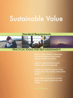 Sustainable Value Standard Requirements