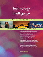 Technology intelligence A Clear and Concise Reference