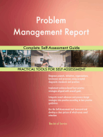 Problem Management Report Complete Self-Assessment Guide