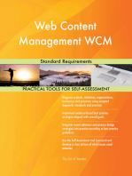 Web Content Management WCM Standard Requirements