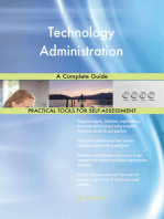 Technology Administration A Complete Guide