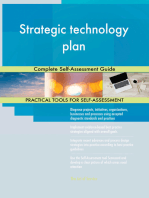 Strategic technology plan Complete Self-Assessment Guide