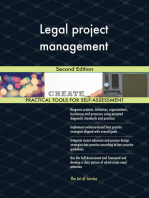 Legal project management Second Edition