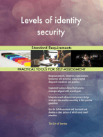 Levels of identity security Standard Requirements