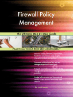 Firewall Policy Management The Ultimate Step-By-Step Guide