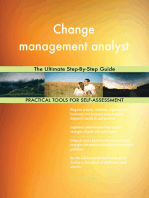 Change management analyst The Ultimate Step-By-Step Guide