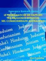 Le problematiche dei rapporti tra religioni e istituzioni nel Commonwealth australiano